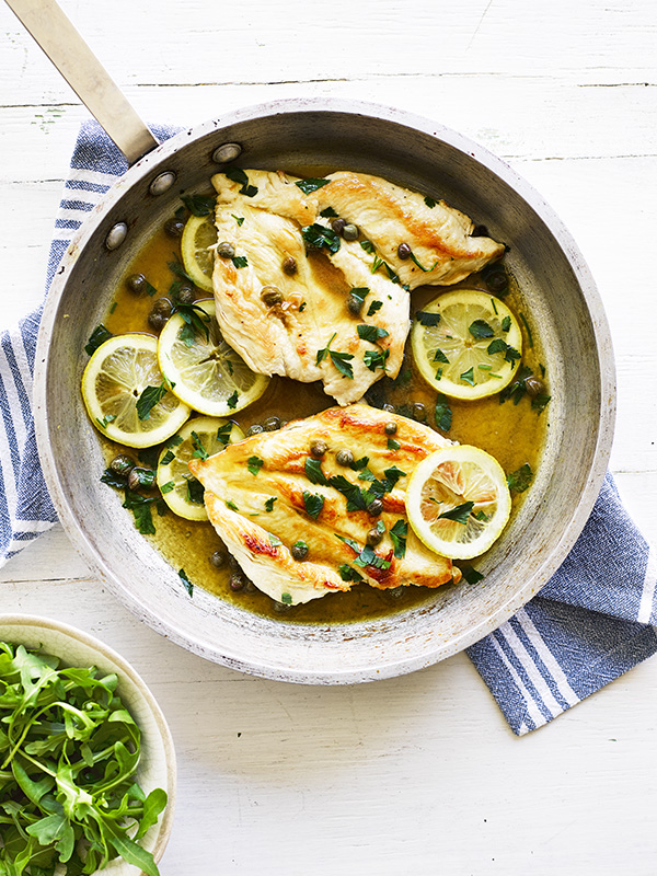 """Paleo chicken piccata"" is locked Paleo chicken piccata"