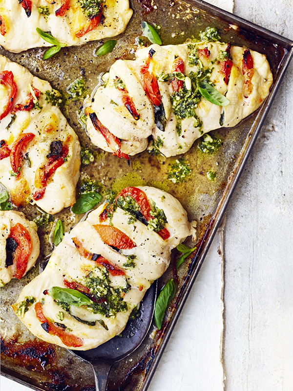 Hasselback Chicken Recipe Olive Magazine