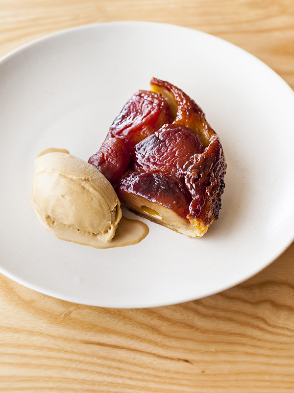Spiced apple tart tatin recipe