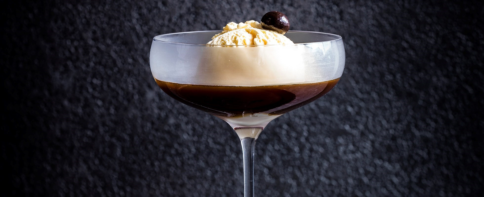 Irish coffee affogato