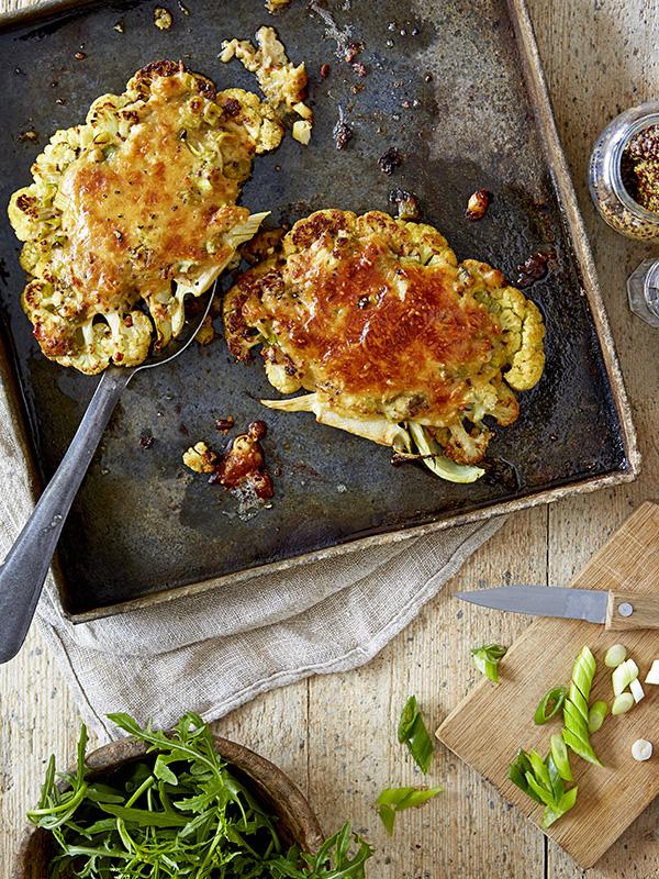 Rarebit Cauli Steaks Olive Magazine