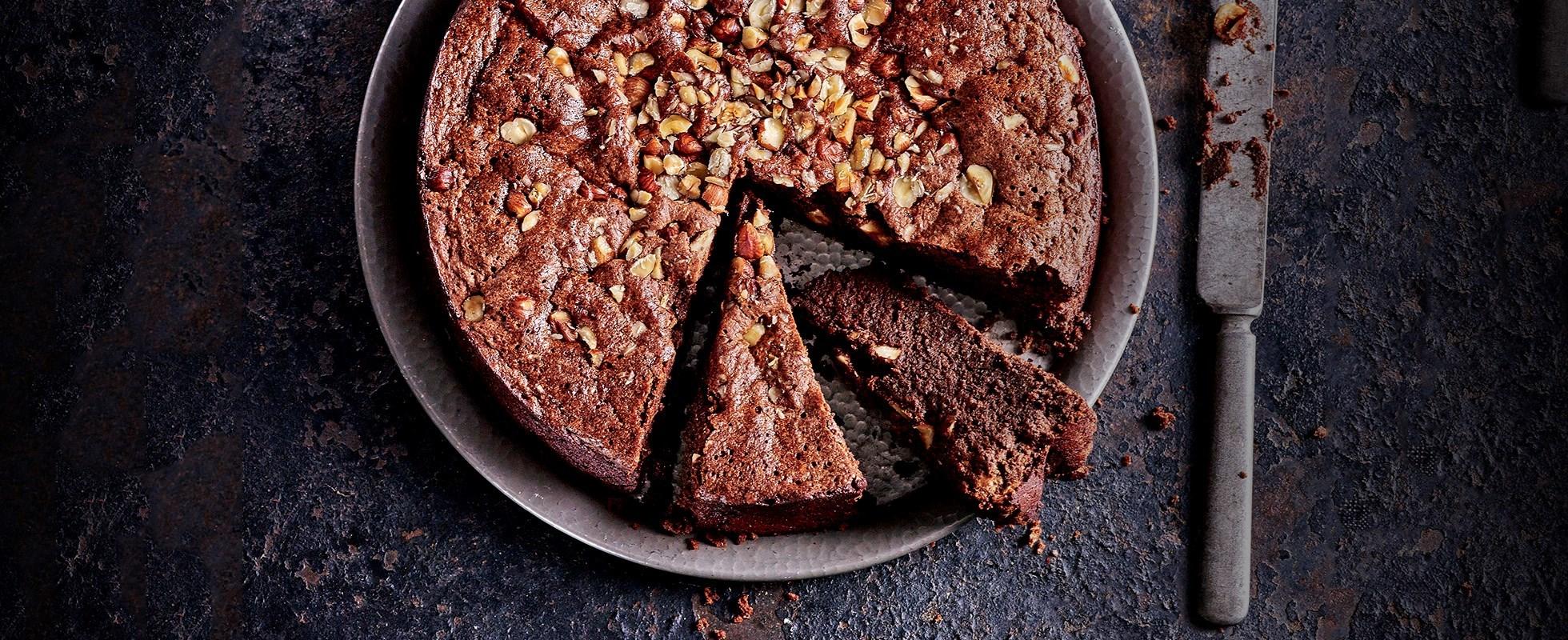 sunken nutella cake - Baileys recipes