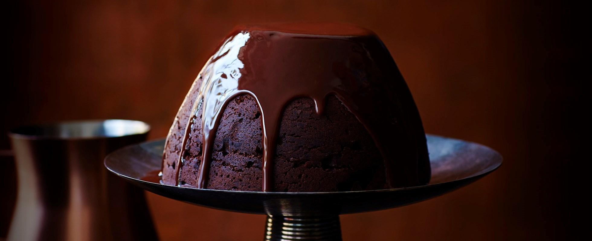 chocolate caramel lindt ball pudding