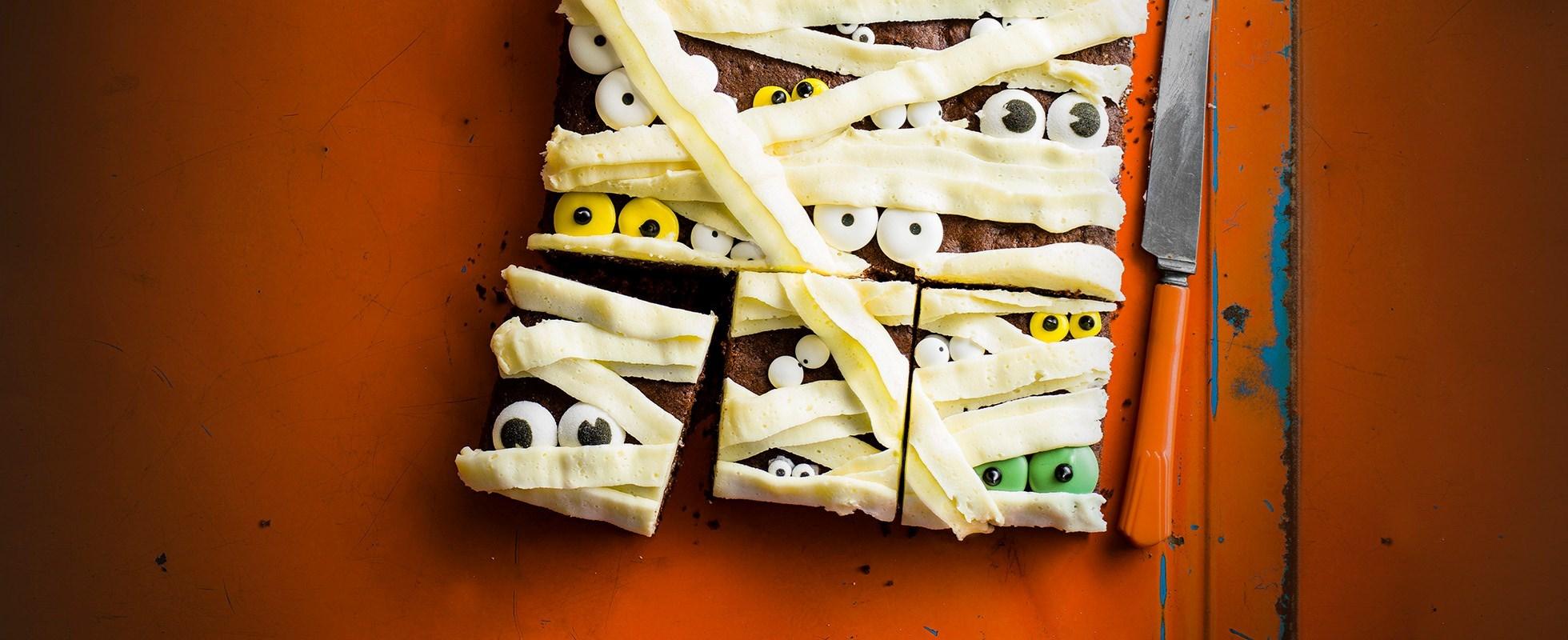 mummy cake