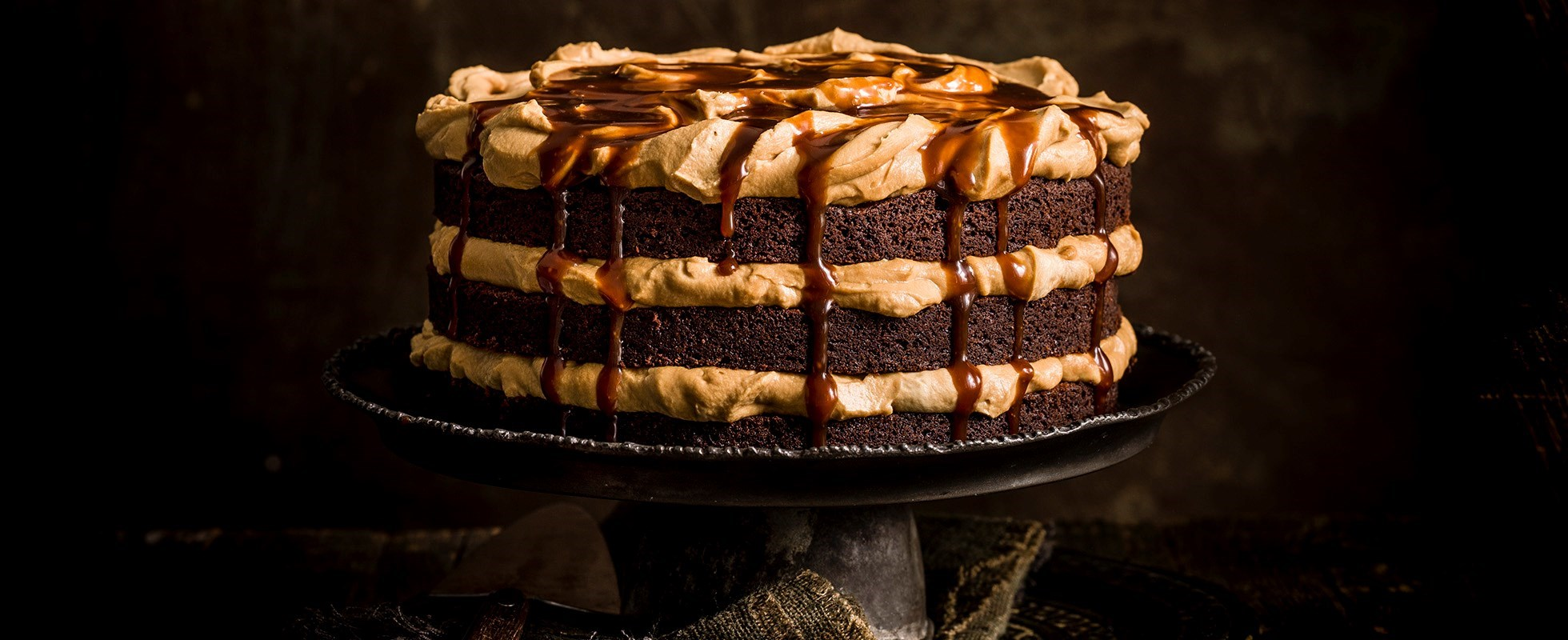 burnt butterscotch cake