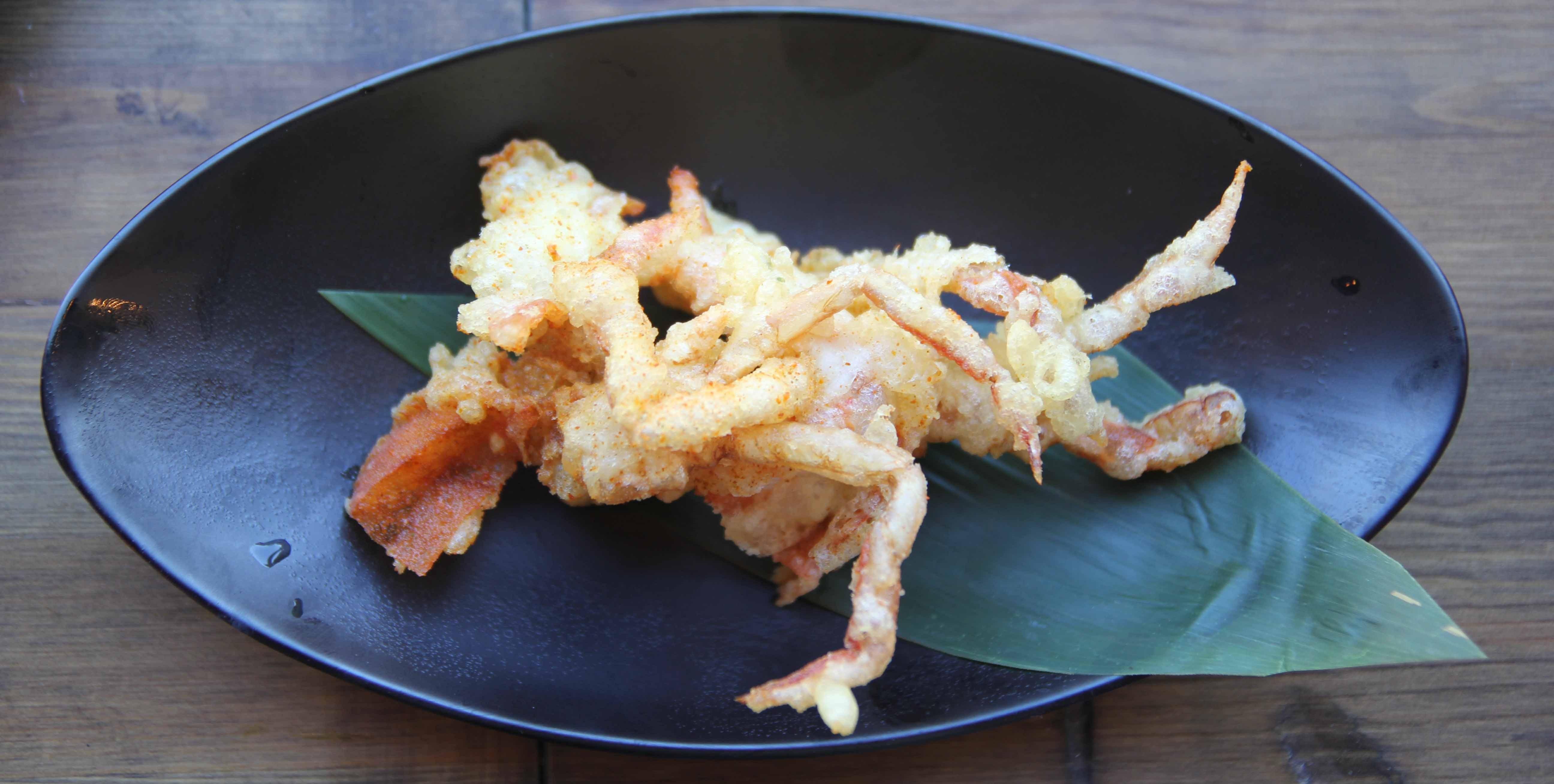 Soft-shell crab tempura