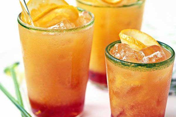 Blood orange Camapri cocktail
