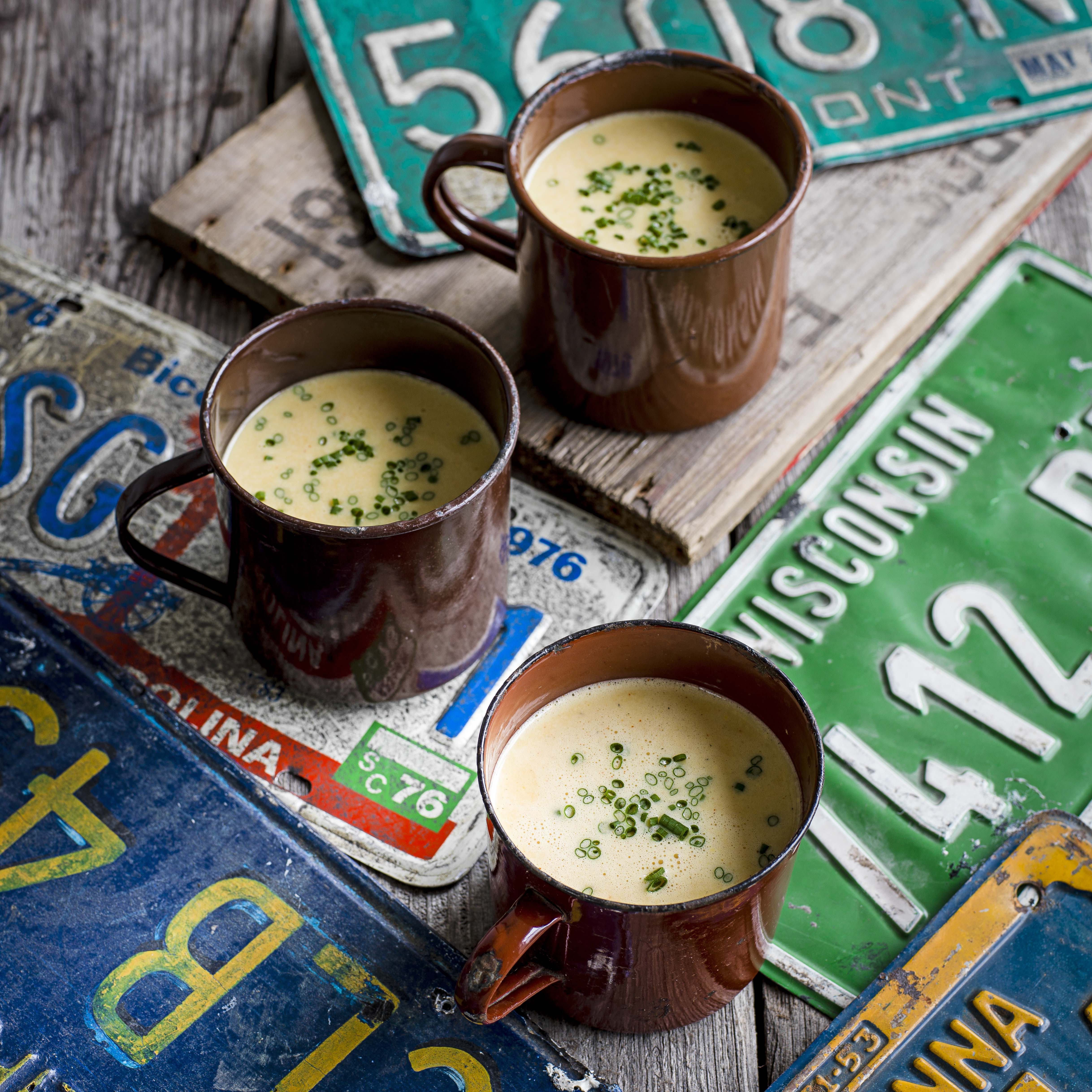 Wisconsin beer and cheese soup
