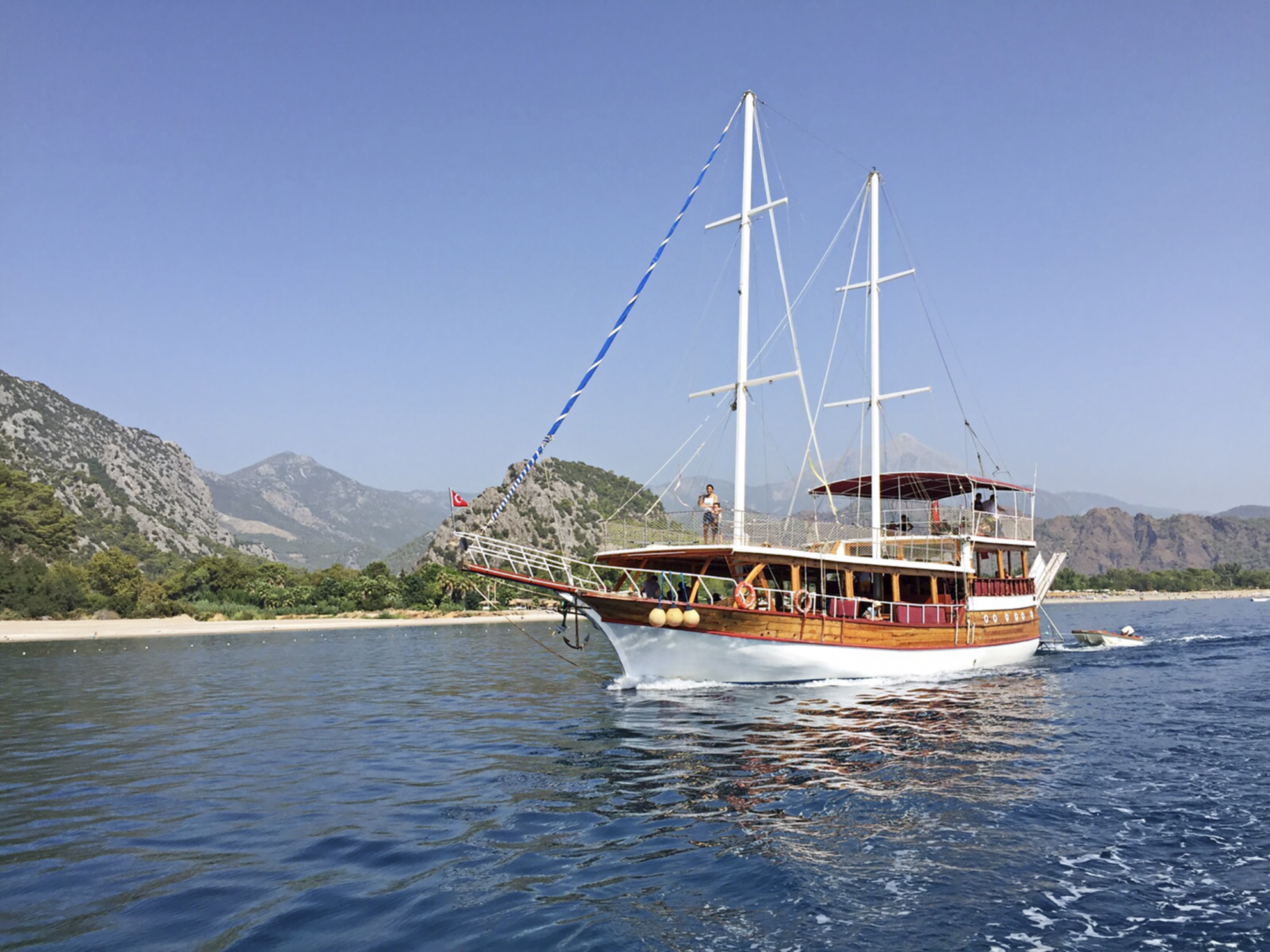 Boat in turkey
