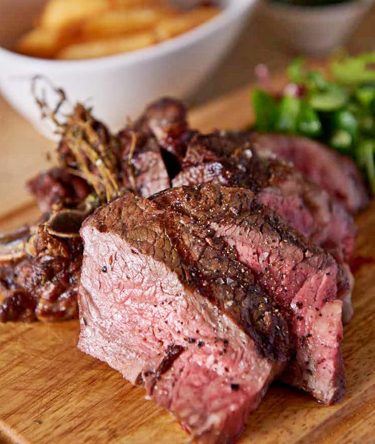 The Red Pump Inn steak