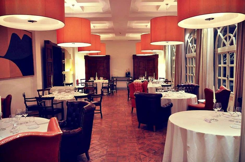 Vespia restaurant, Palazzo Seneca, Norcia