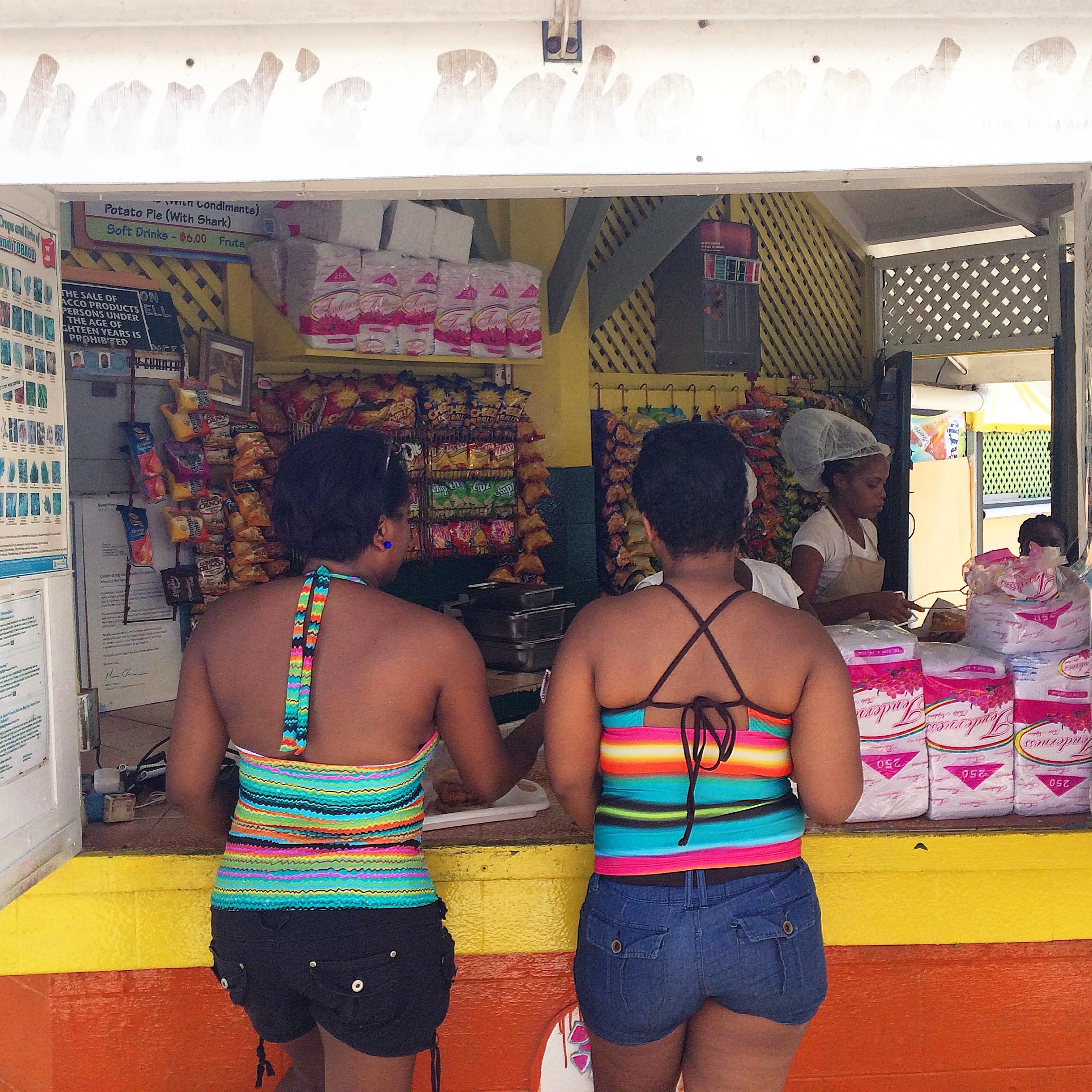 Richard's Shark 'n' Bake, Maracas Beach, Trinidad