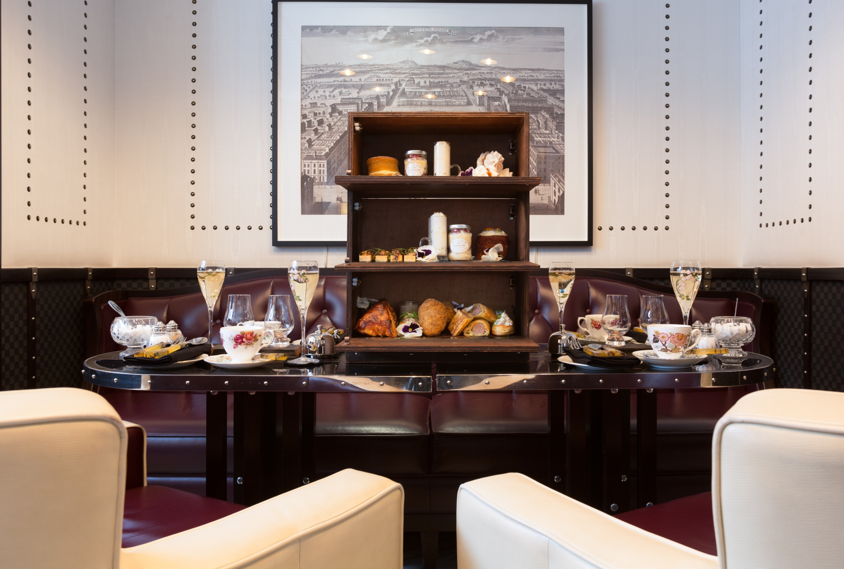 Afternoon tea at The Luggage Room