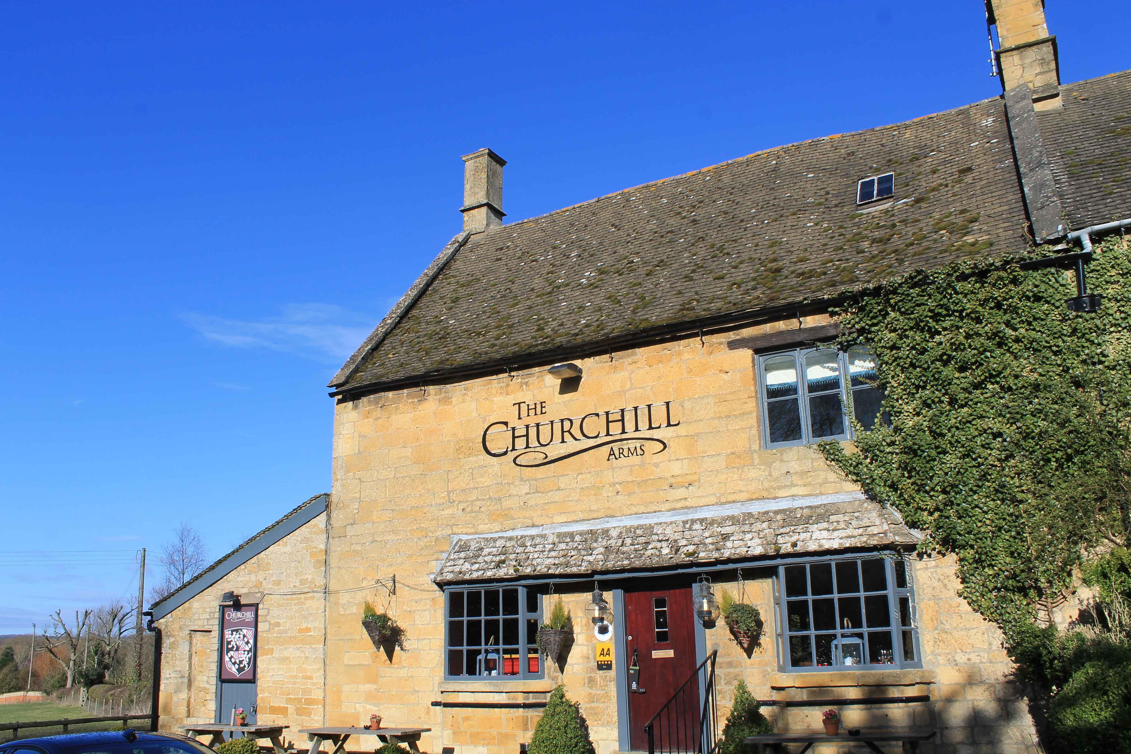 The Churchill Arms, The Cotswolds