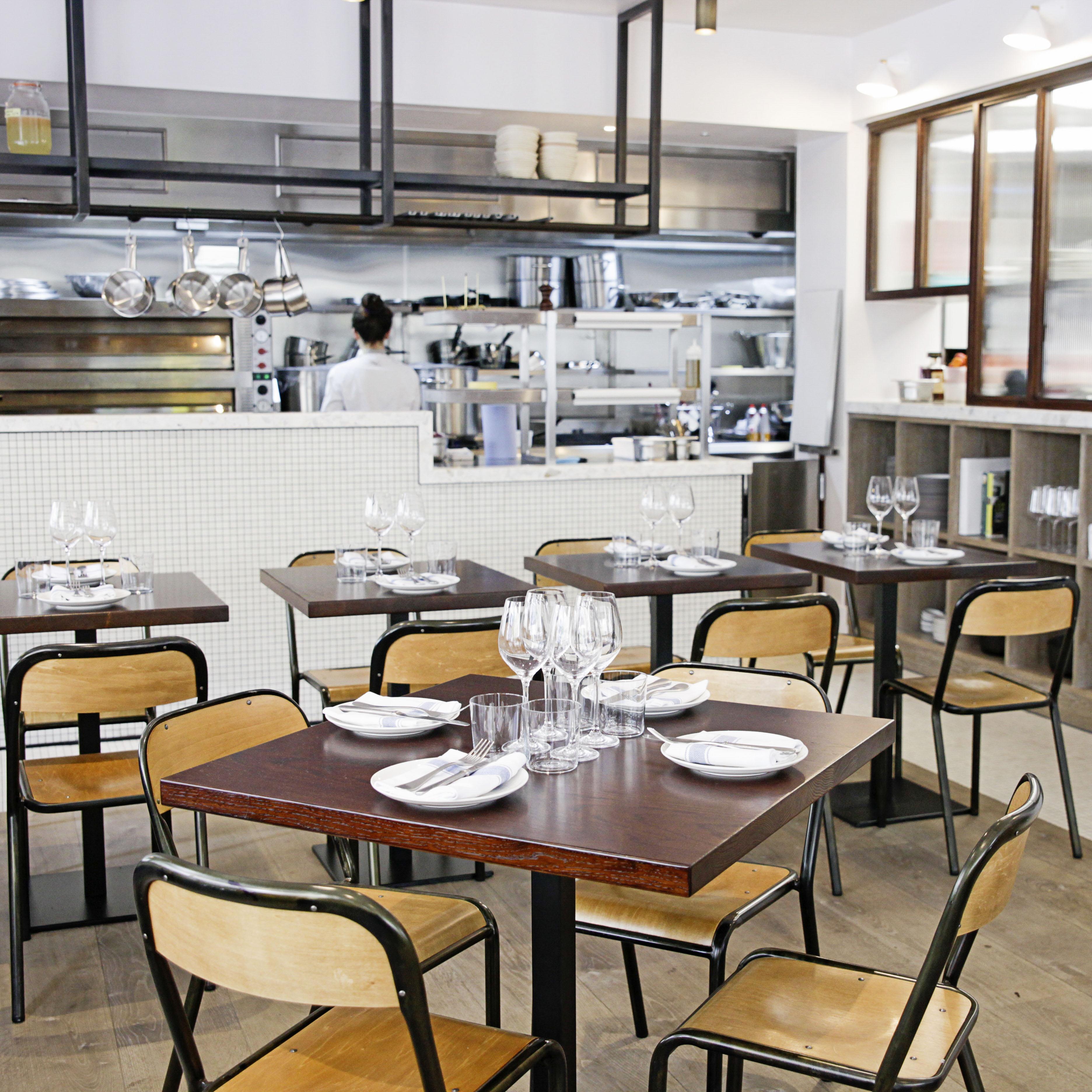 Cliptone restaurant, London W1 interior