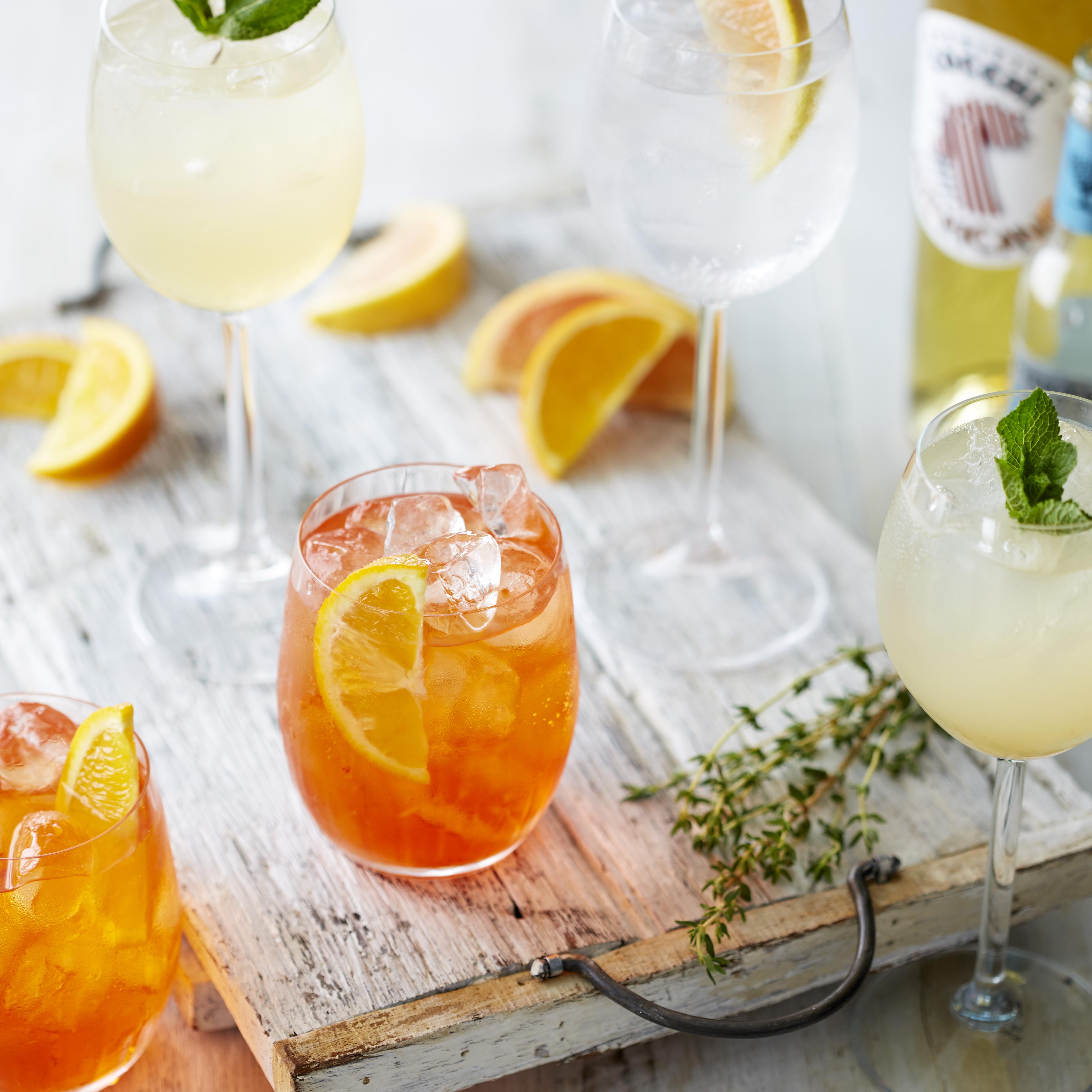 Cocchi jasmine tea spritz
