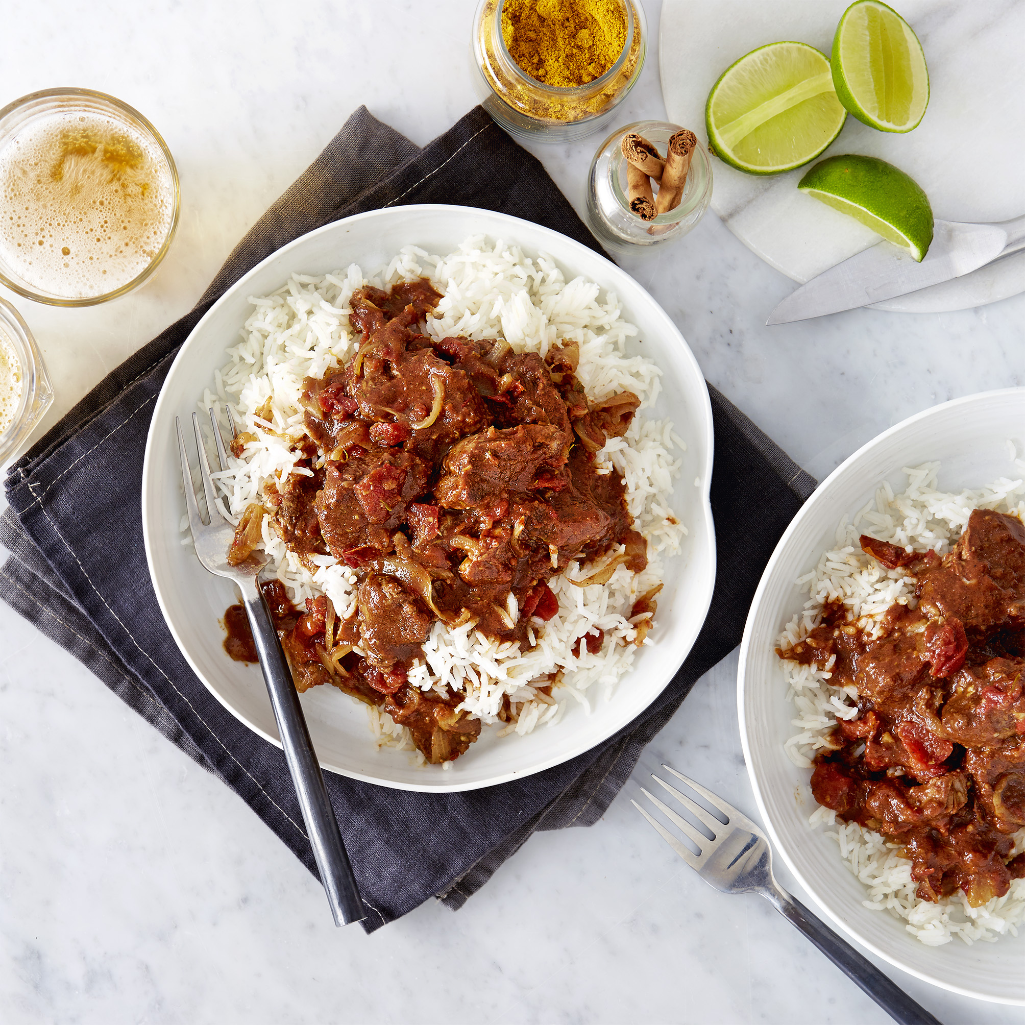 Caribbean curry with lamb olive magazine caribbean style lamb curry forumfinder Image collections