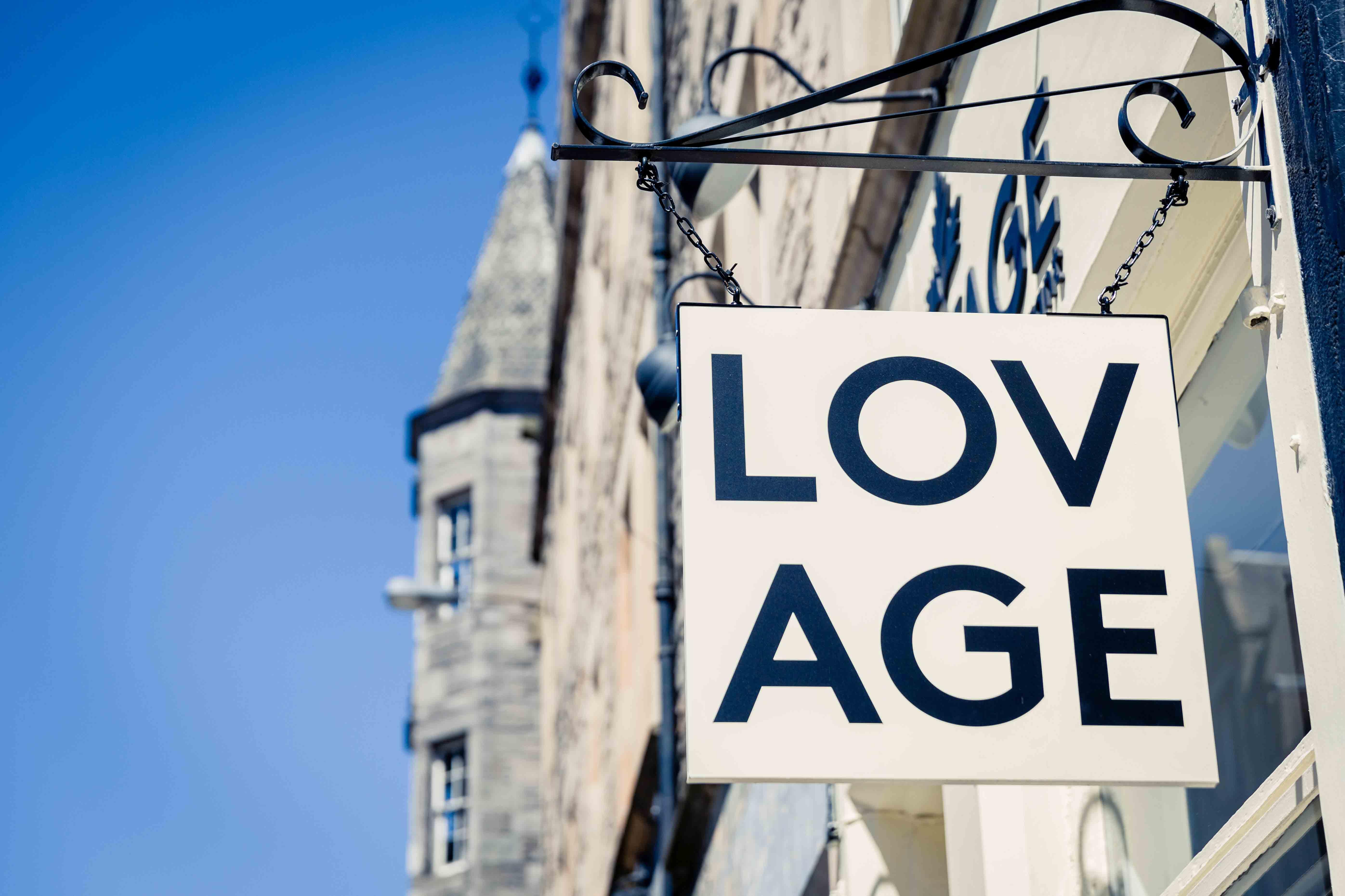 Lovage restaurant, Edinburgh