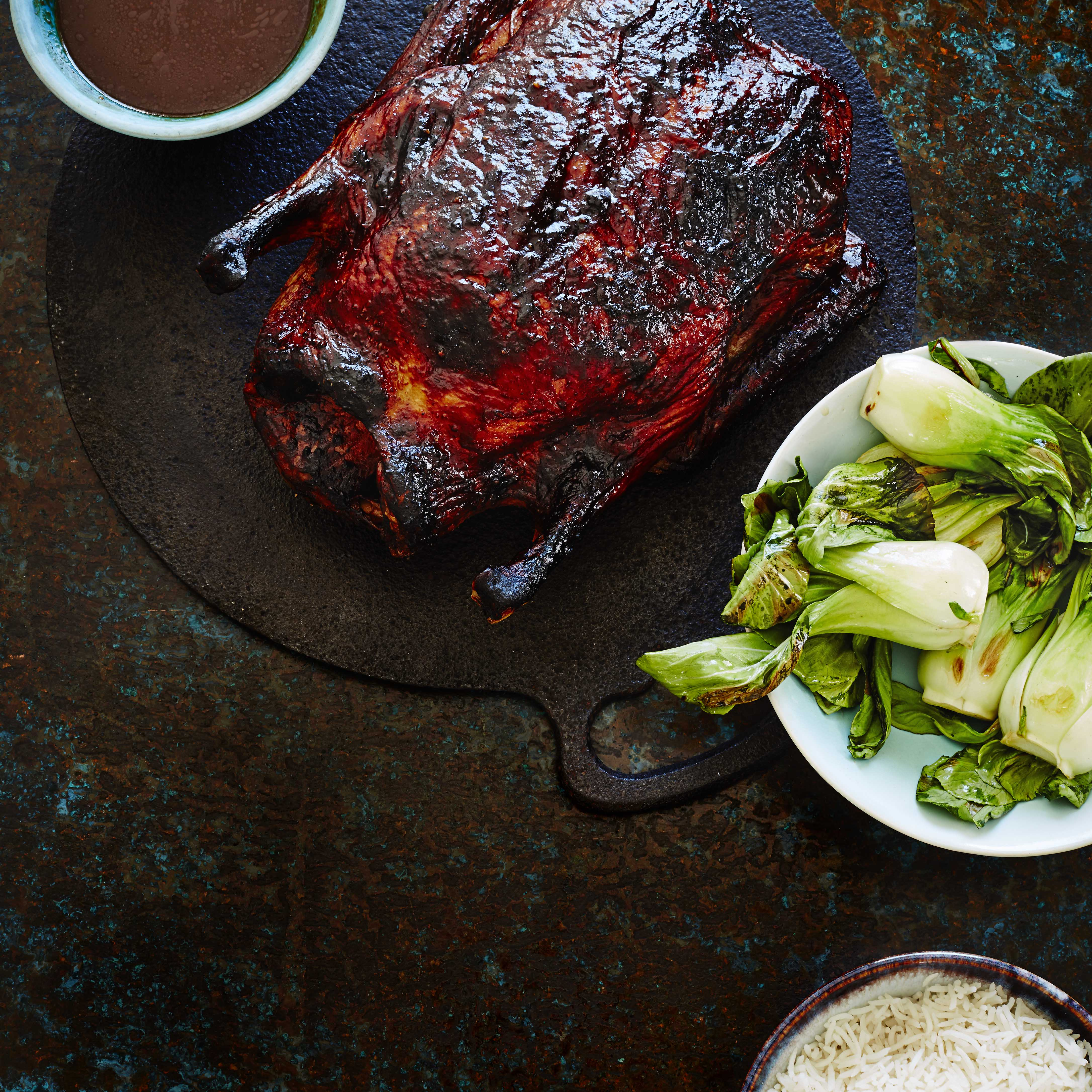 Slow-roasted duck with sweet tamarind