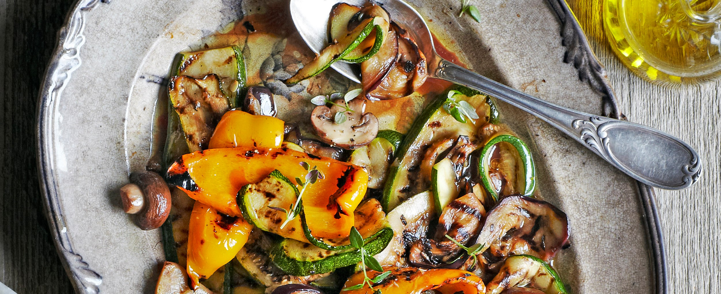 summer veg antipasti