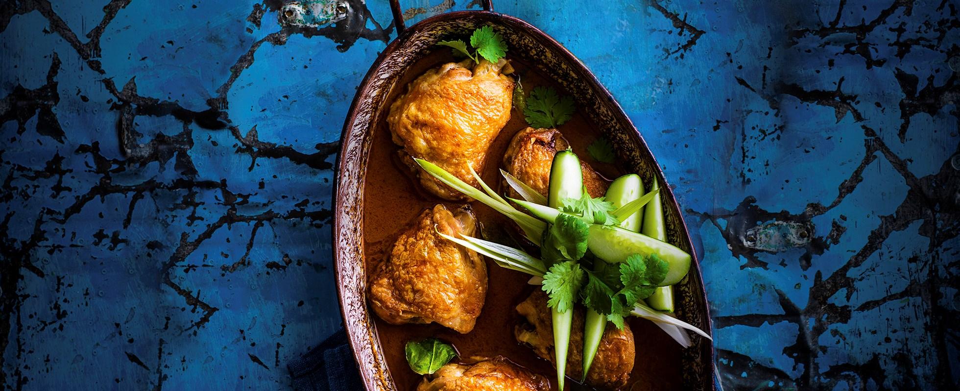 Really easy Thai roast chicken