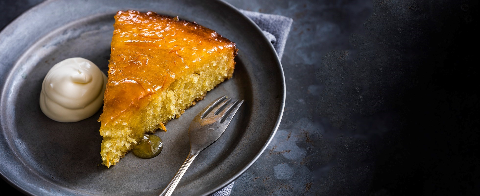 orange marmalade slump cake