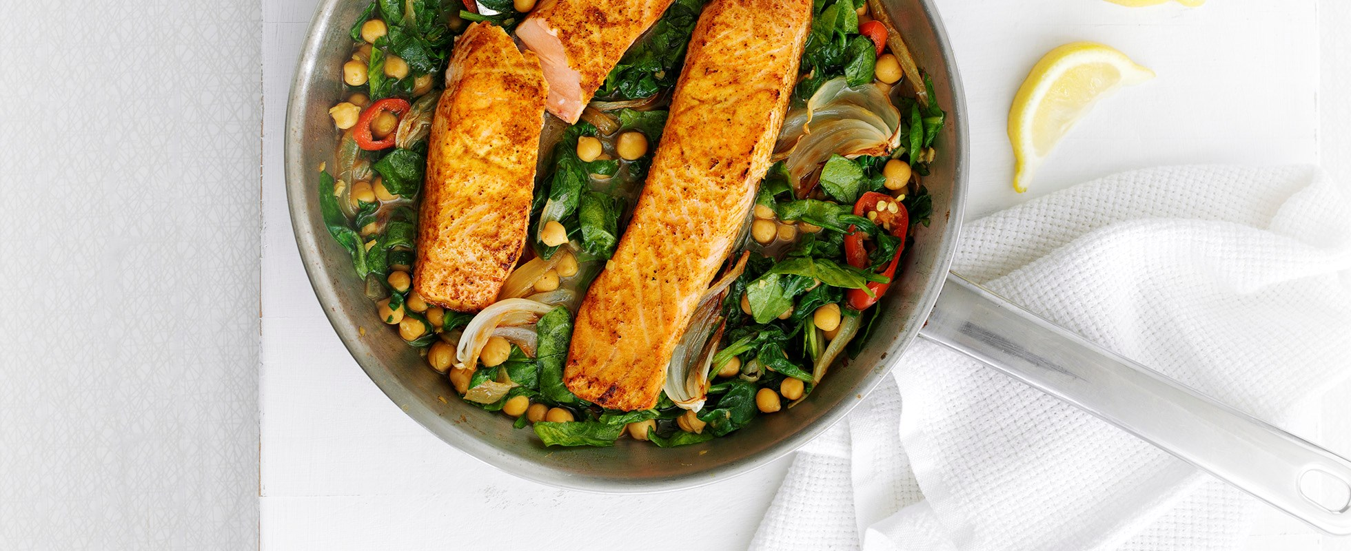 Indian Salmon With Chickpea Stew This Recipe