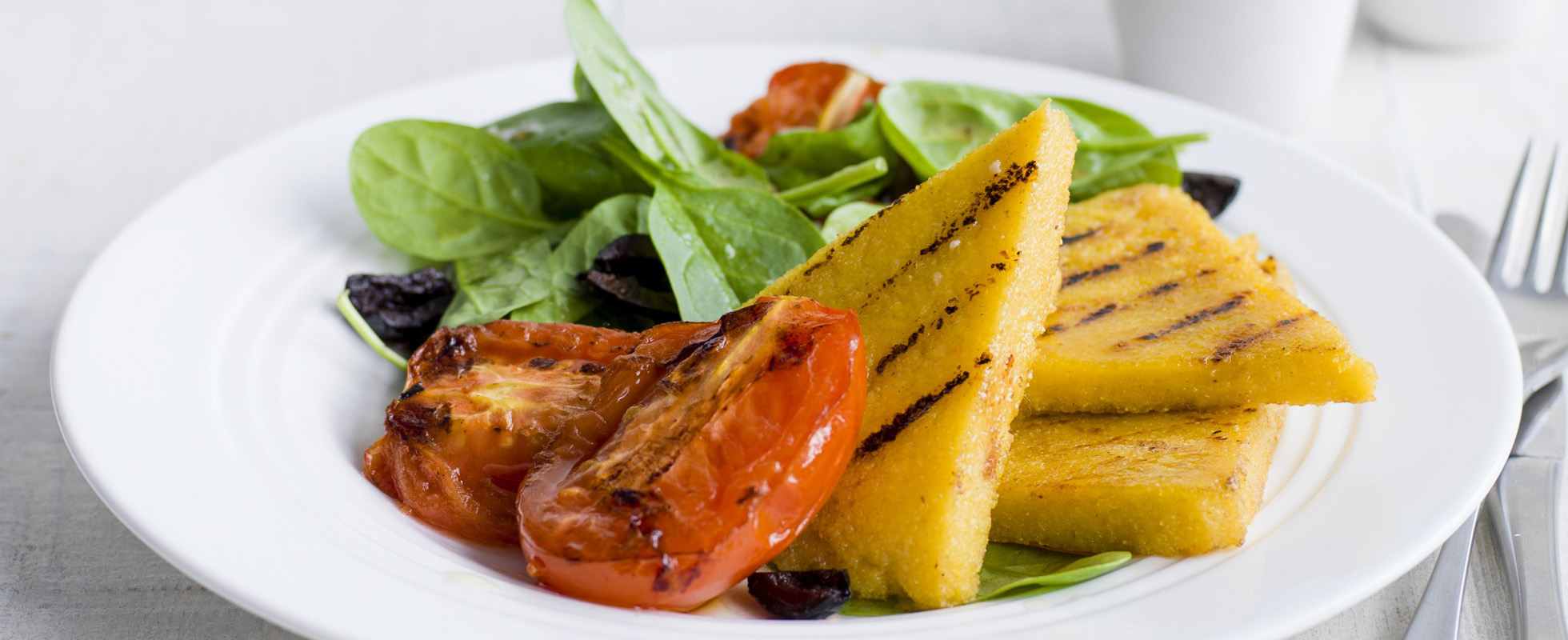 Best ever healthy italian recipes under 500 calories olive magazine looking for healthy meal ideas try this simple italian dish made with polenta cook in advance then cut into wedges and grill forumfinder Images