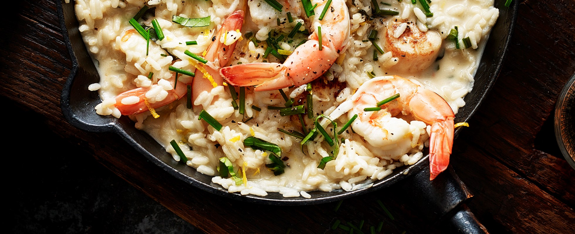 Best ever prawn recipes olive magazine for Spicy prawn risotto