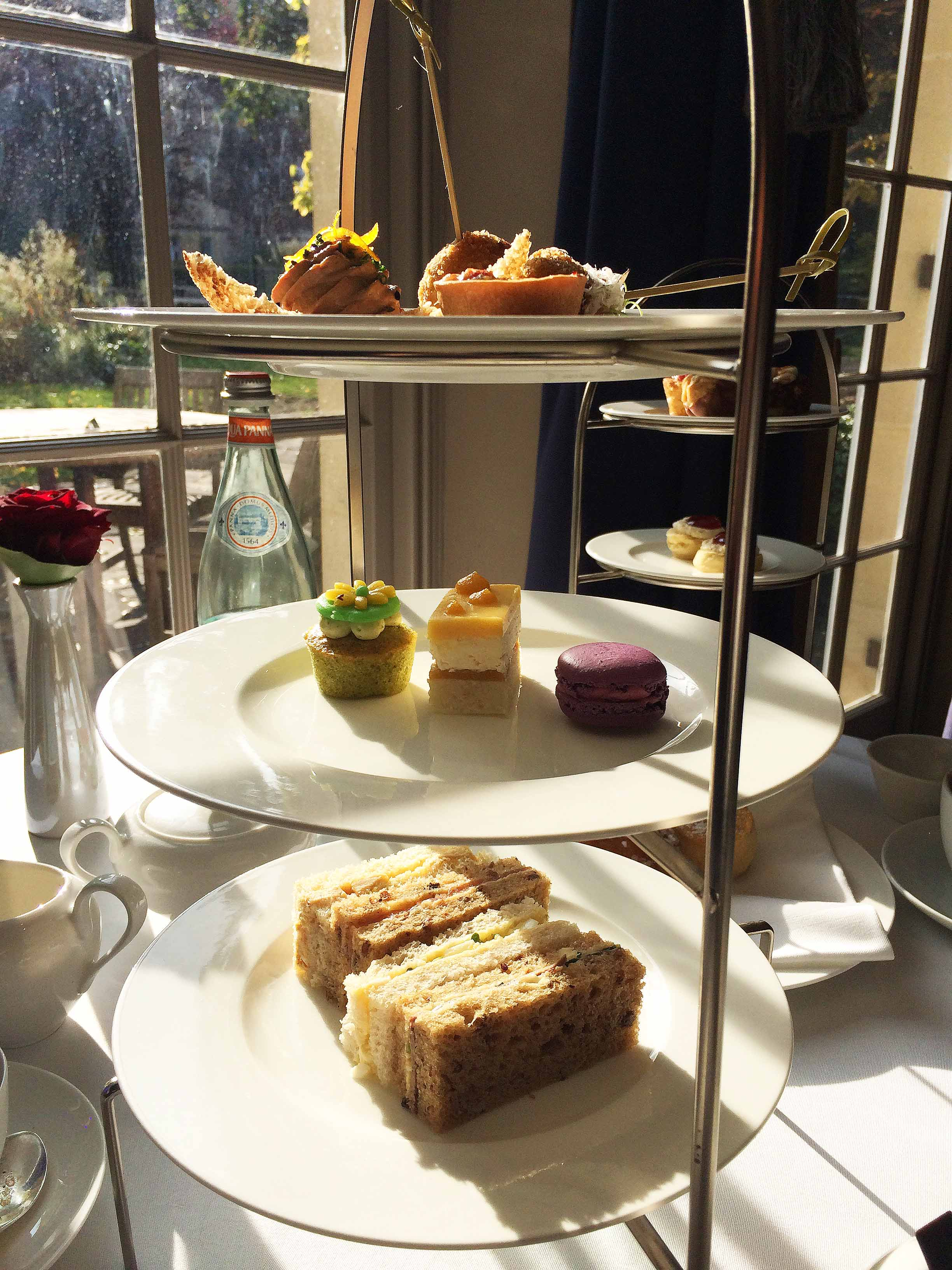 Afternoon tea at Royal Crescent Hotel, Bath