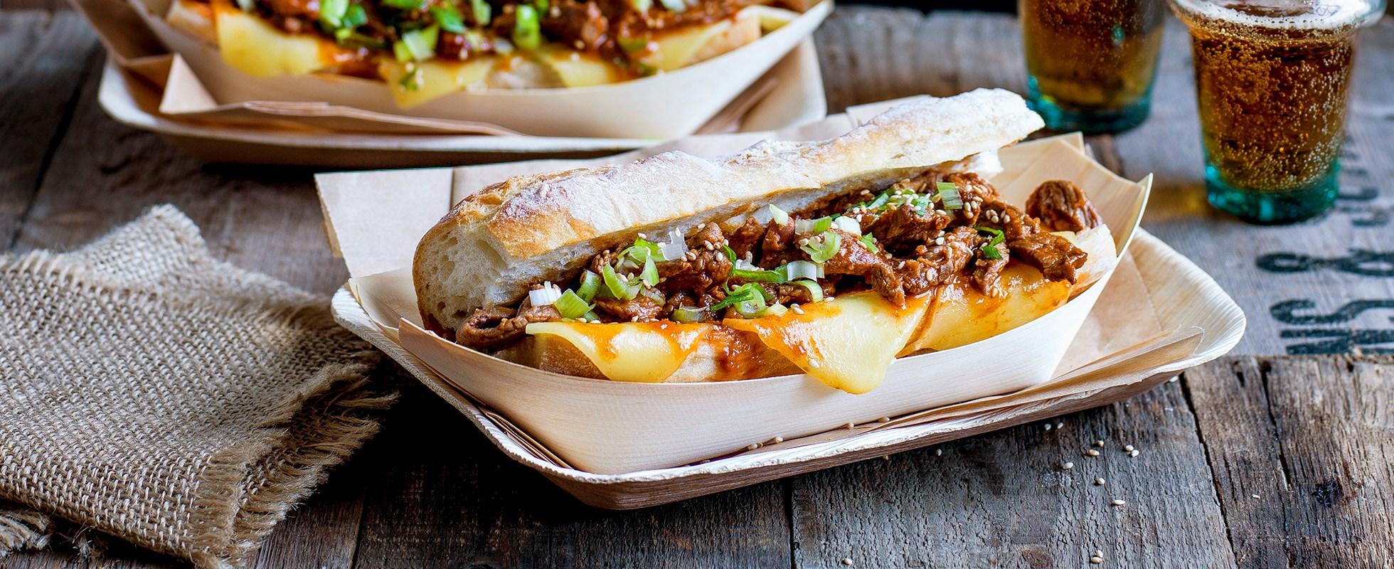 Best ever asian street food recipes olive magazine olive magazine bulgogi cheese steak sandwich forumfinder Images
