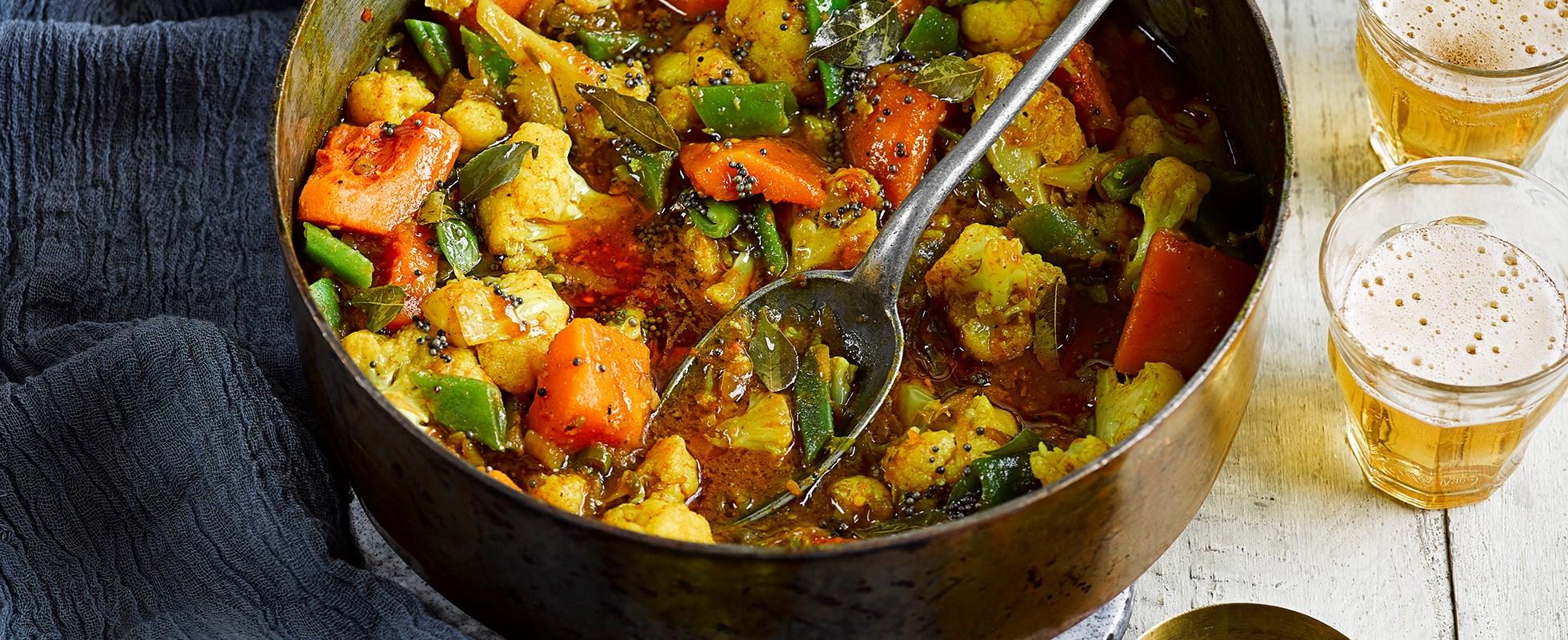 Sri Lankan veggie curry