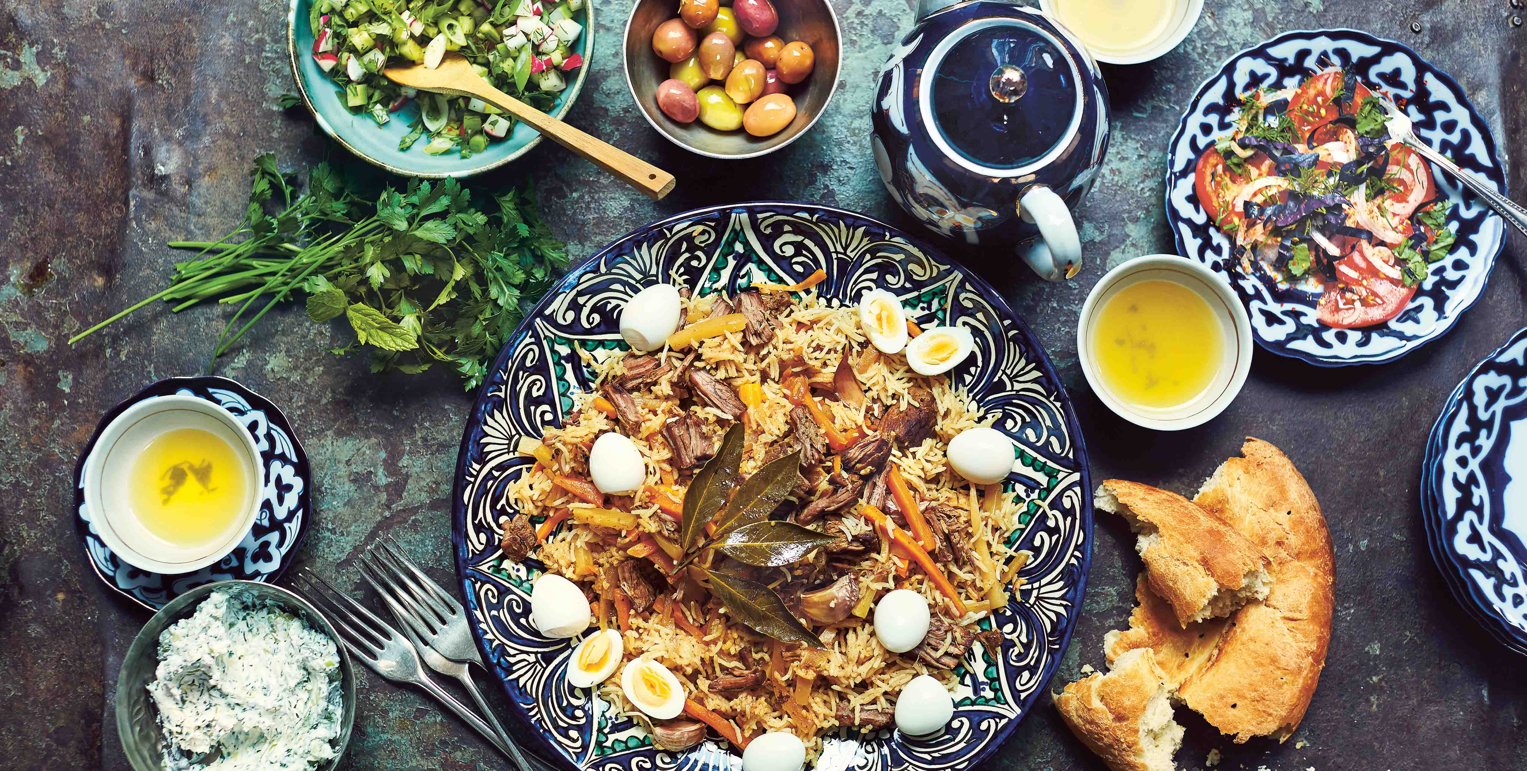 Uzbekistan the best places to eat and drink olive magazine for Atlas house uzbek cuisine