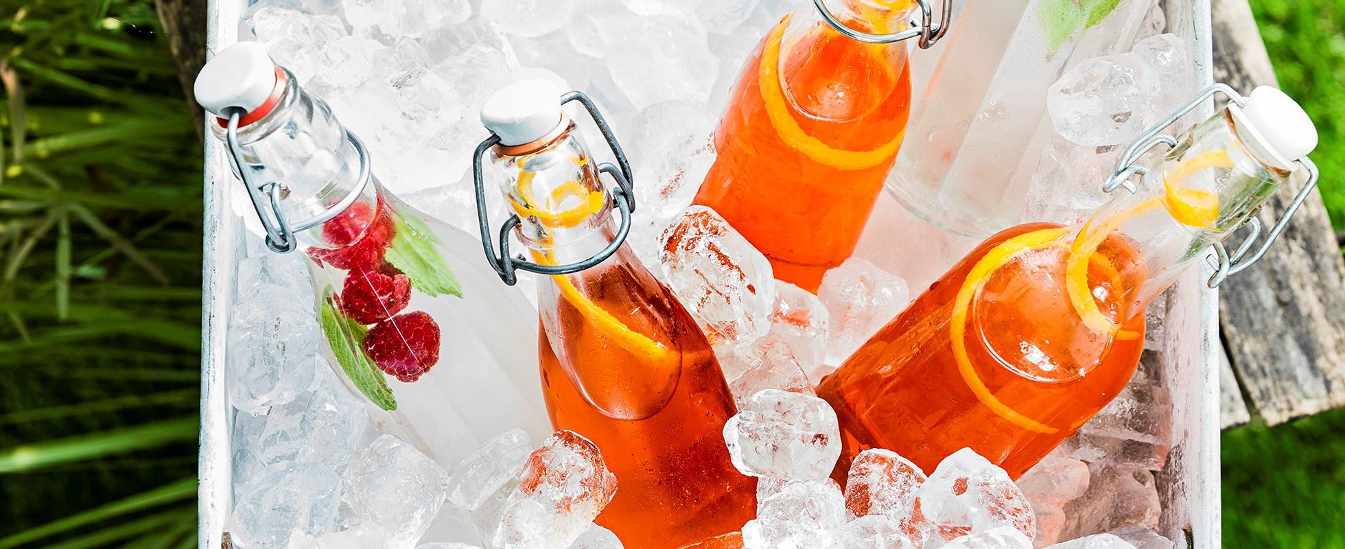 Contessa cocktail bottles
