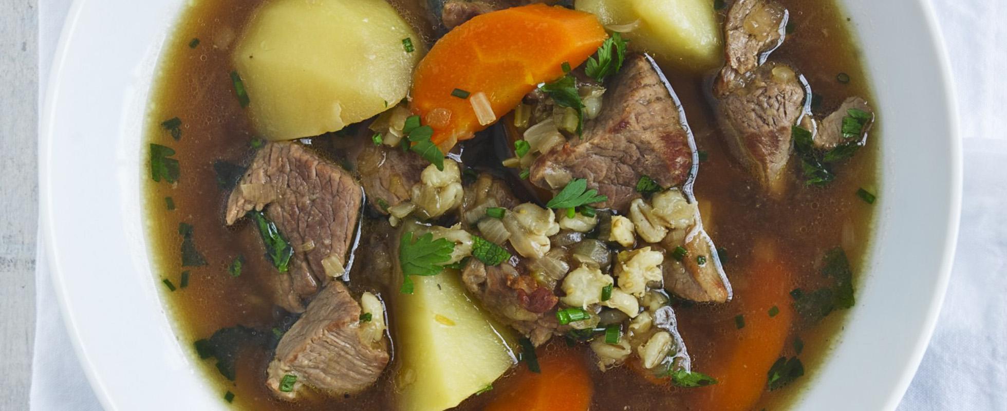 Skinny lamb stew
