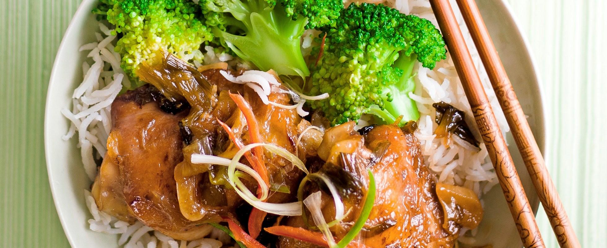 Chinese red-braised chicken - healthy chicken recipe