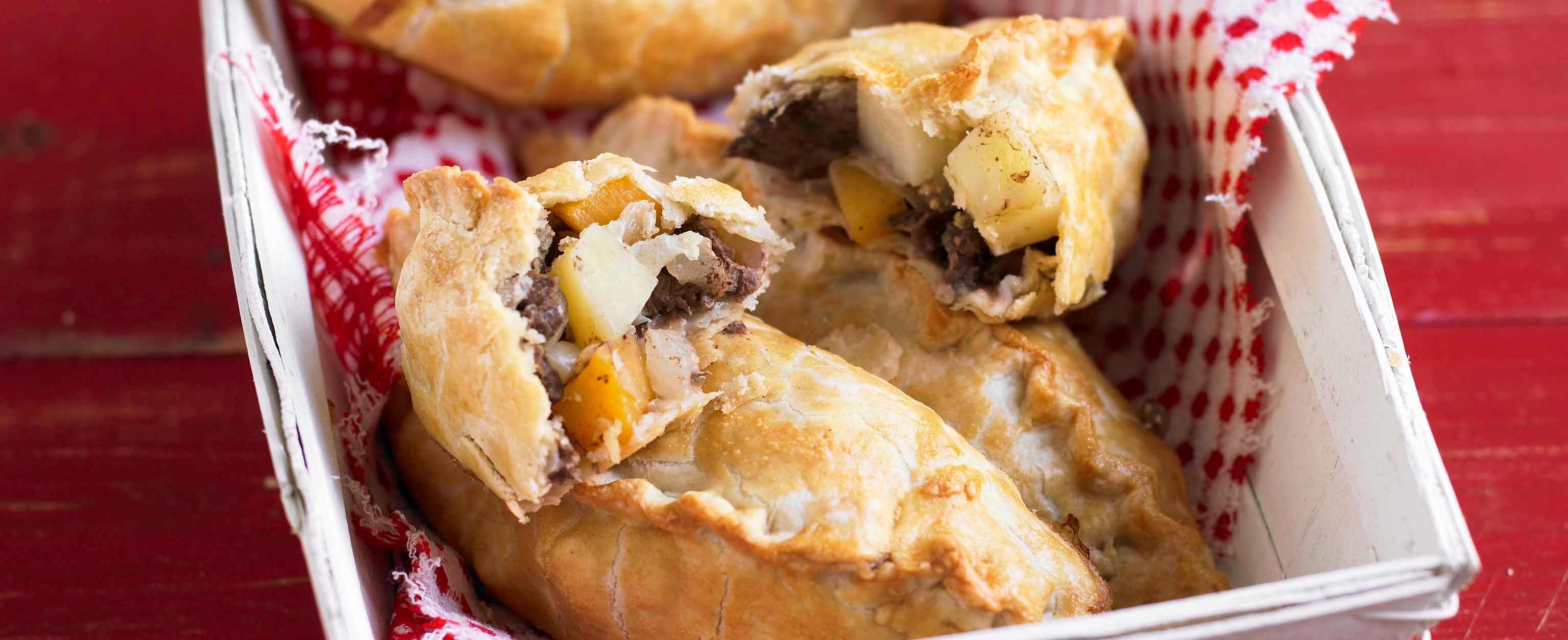 Classic cornish pasties