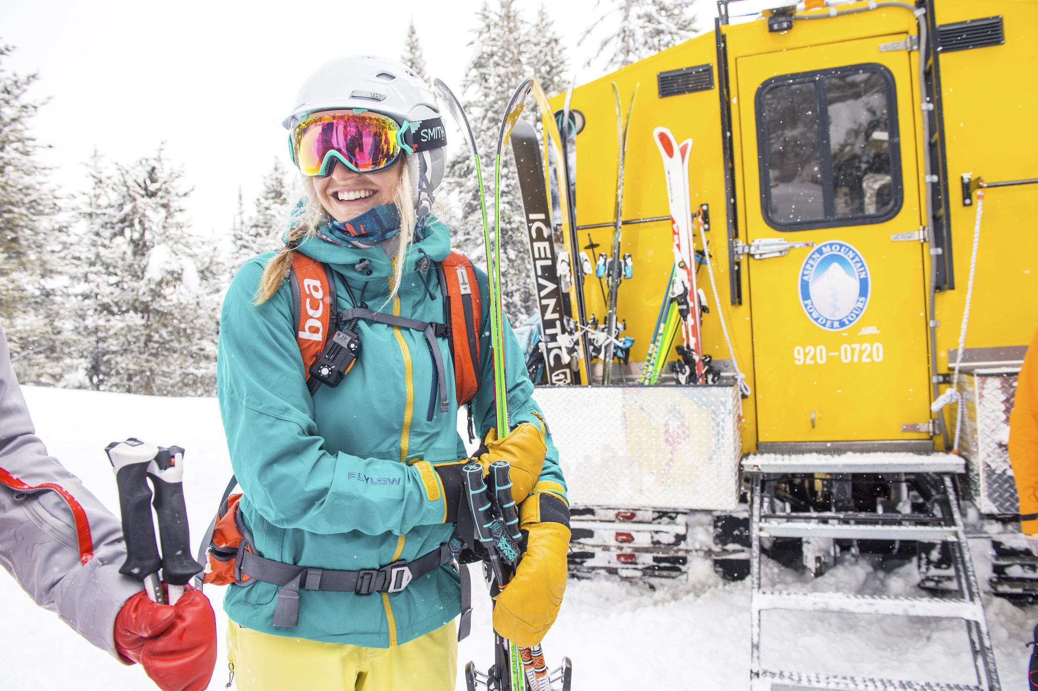 Skier in Aspen
