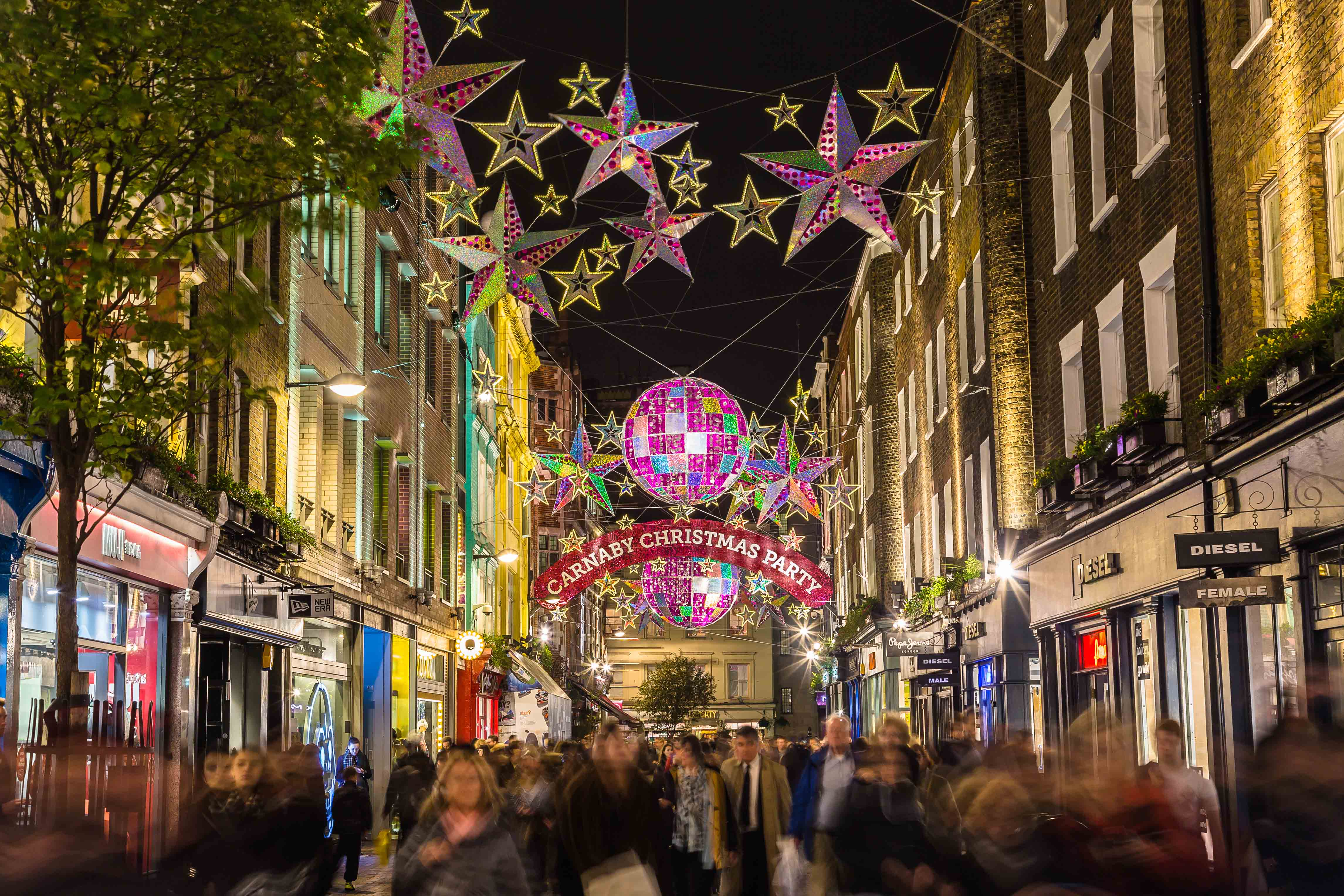 Carnaby Street London by Getty Images