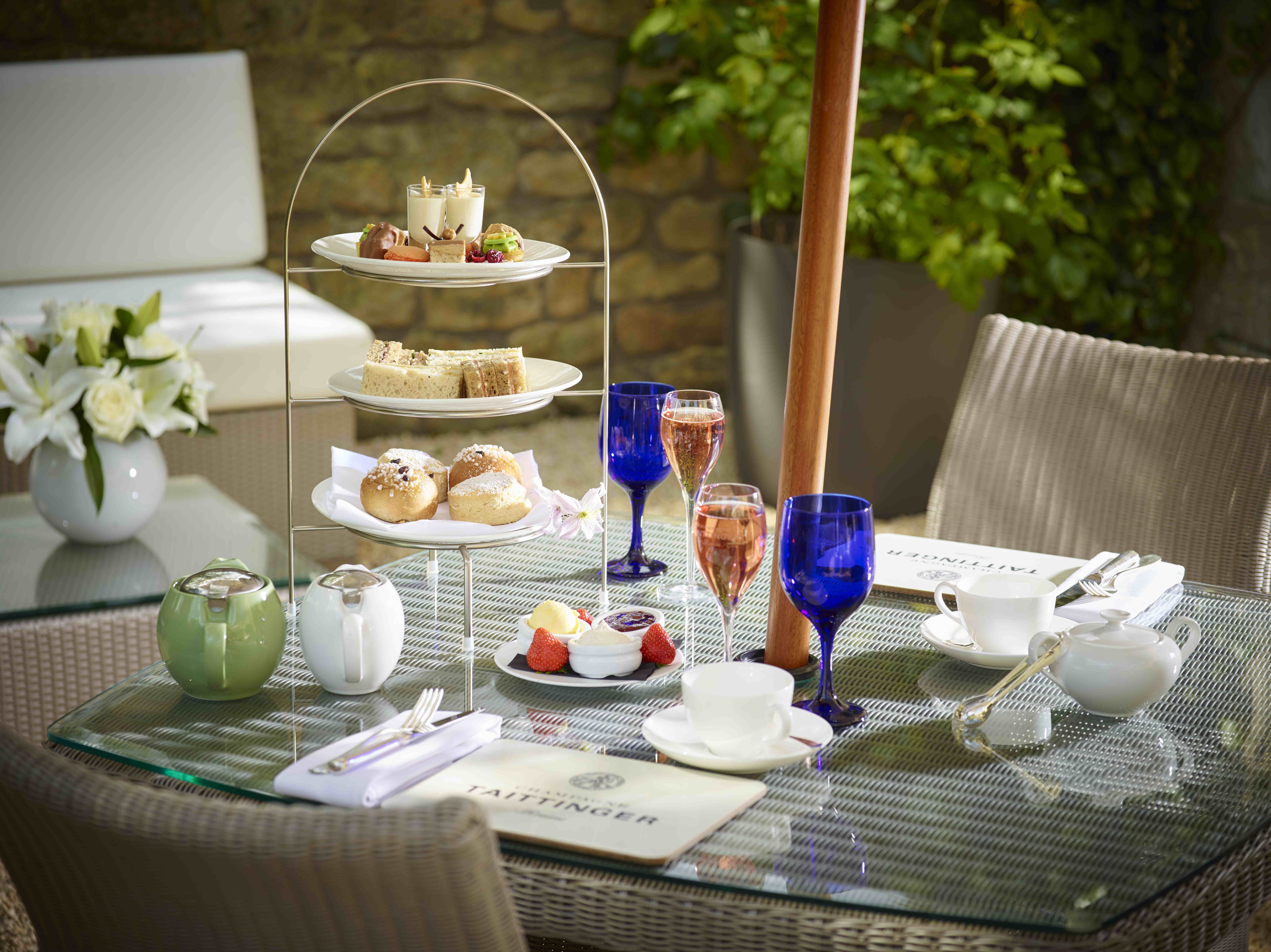 Champagne Afternoon Tea at Royal Crescent Hotel, Bath
