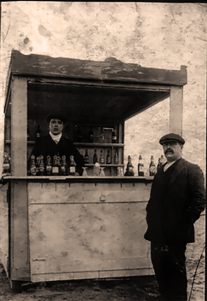 First coleman's venture circa 1905 South Shields Promenade