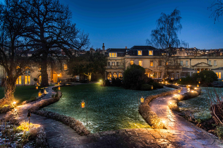 Royal Crescent Hotel Christmas Gardens