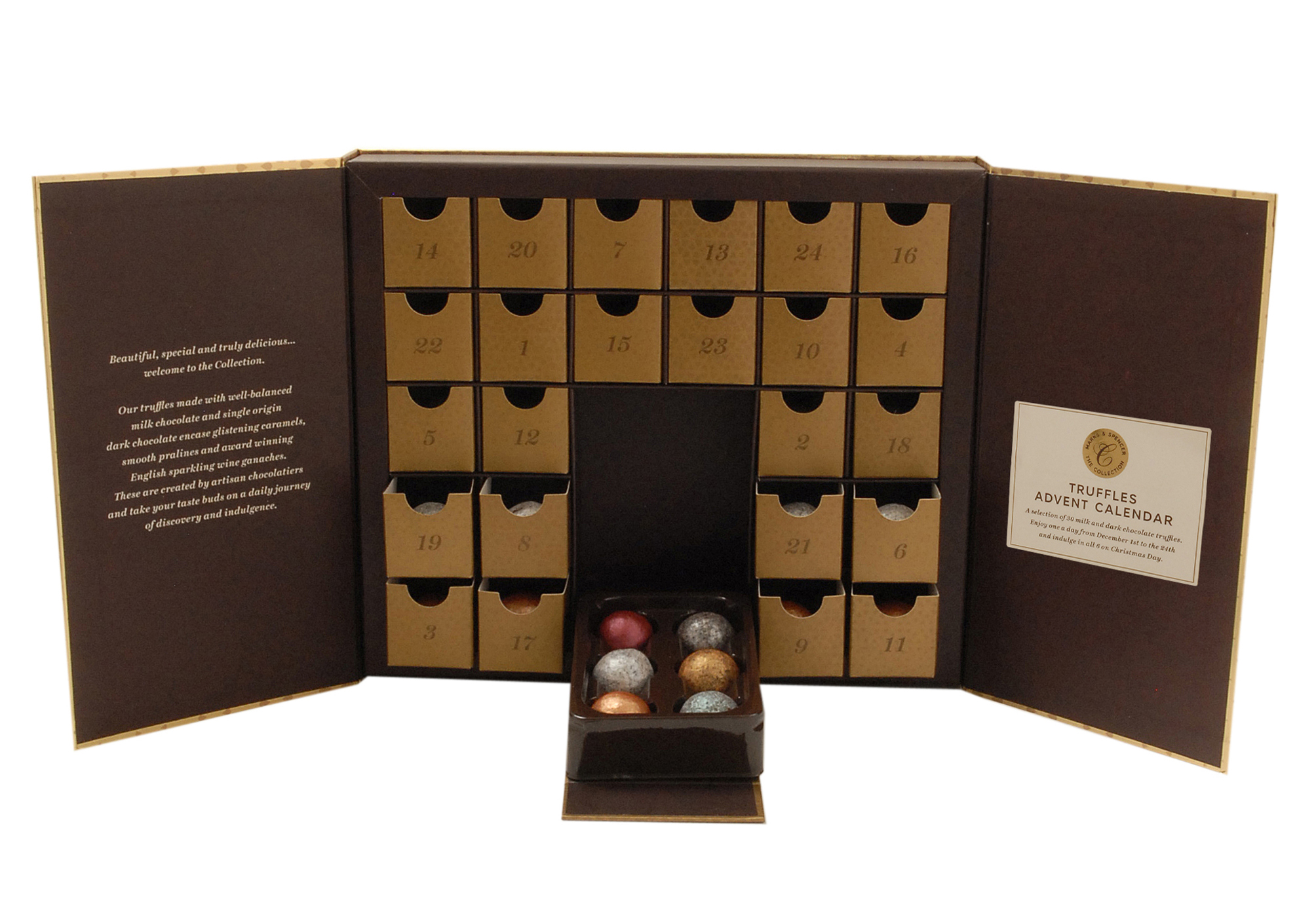 Marks and Spencers Truffles Advent Calendar