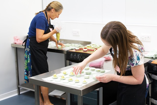 Macarons and more cookery school