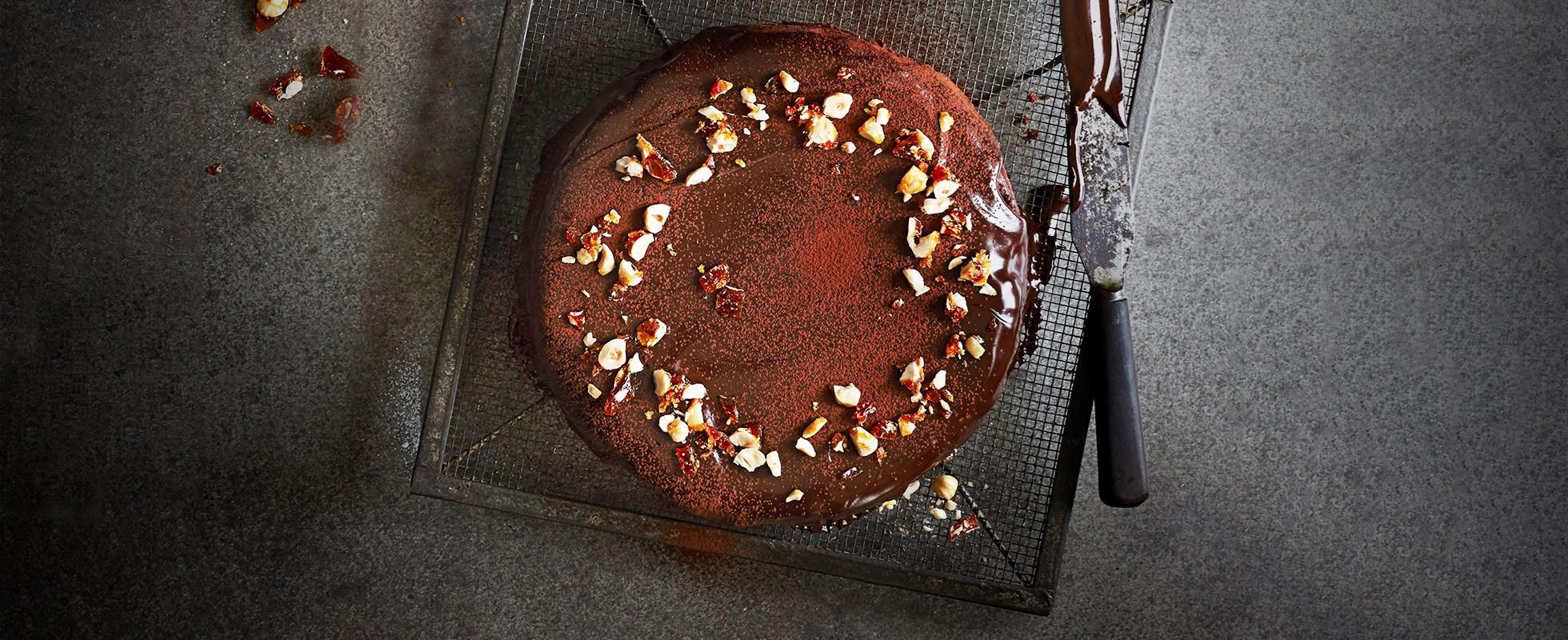 chocolate hazlenut cake