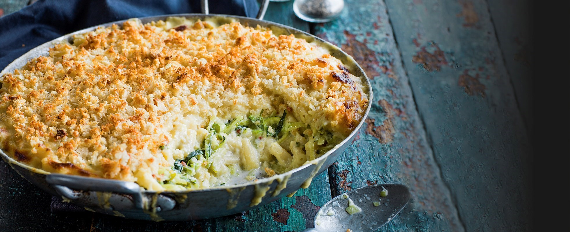 courgette mac and cheese