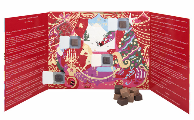 Prestat rocking horse Advent calendar 2016