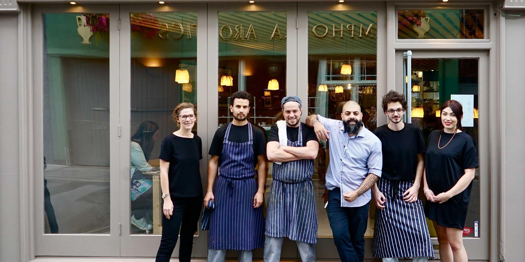 The team behind Pasta Loco, Cotham Hill, Bristol