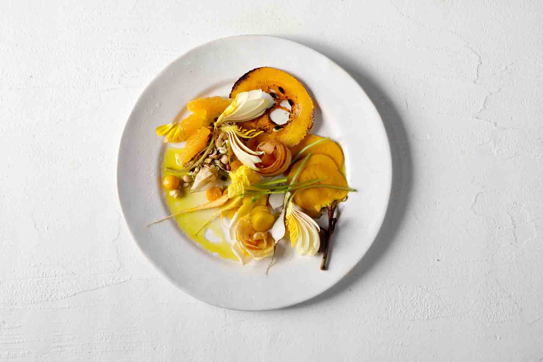 pumpkin-in-the-seasonal-yellow-salad