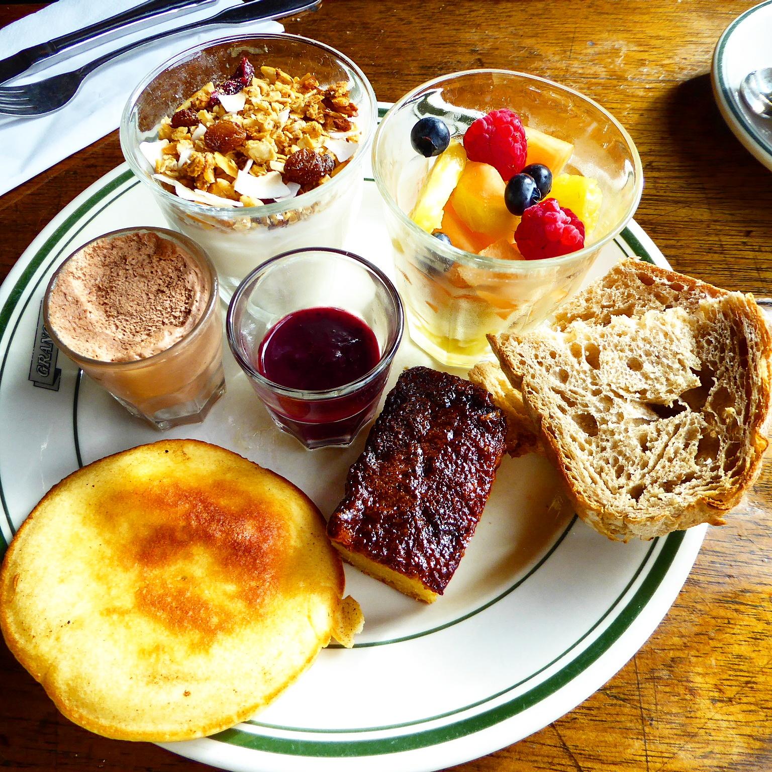 Breakfast plate at Cafe Granola Copenhagen